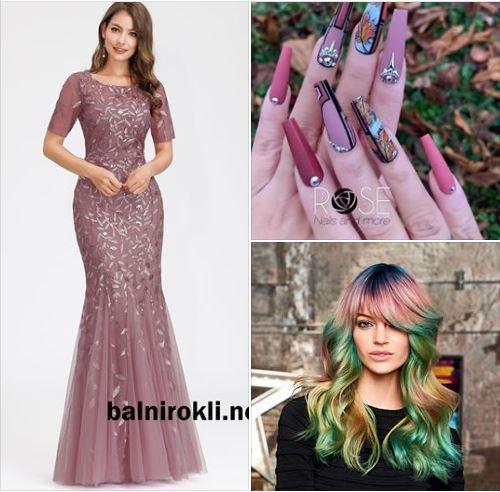 вечерните рокли като доказателство за вашата елегантност