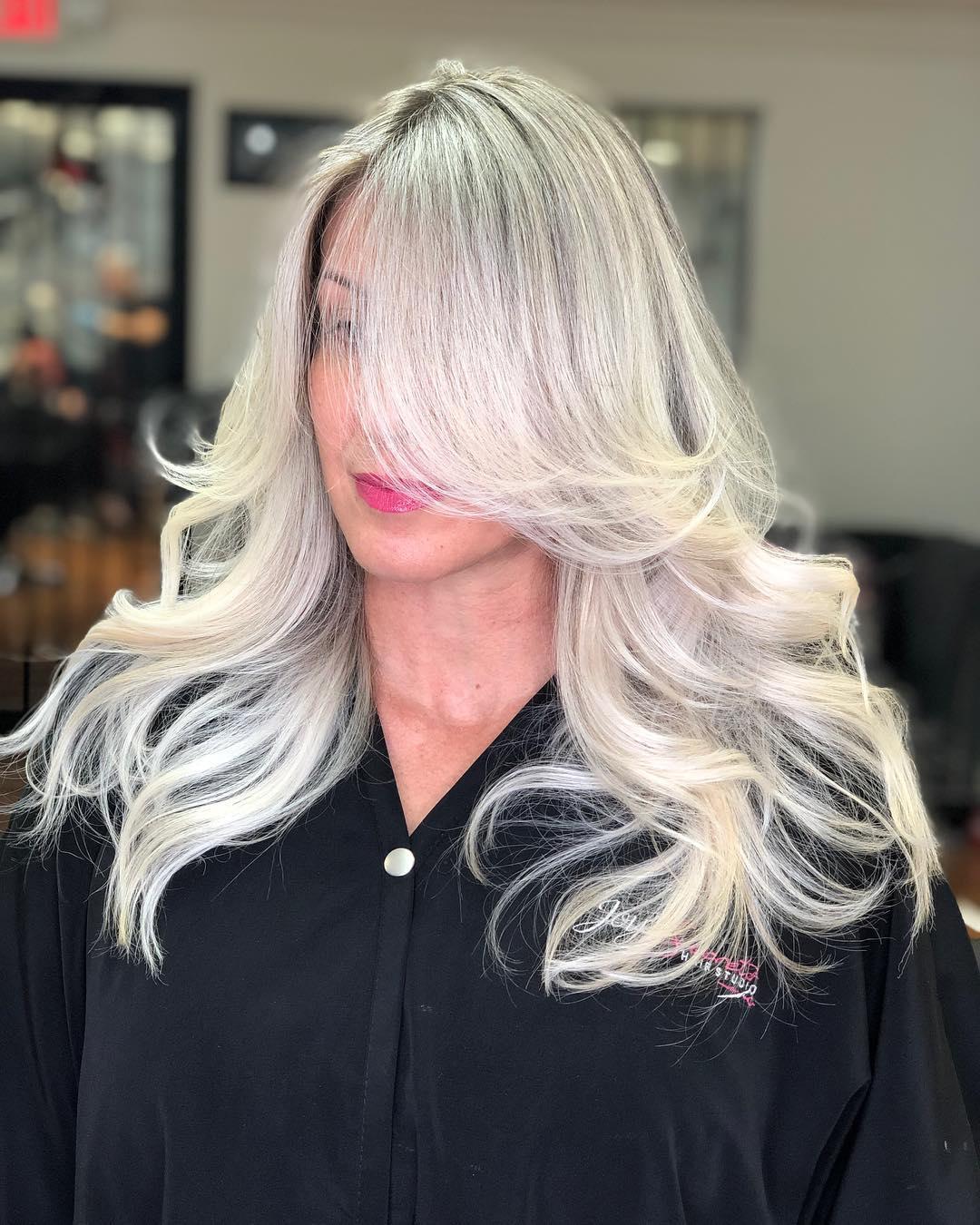 каскада за дълга коса