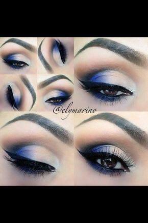 сини сенки за очи