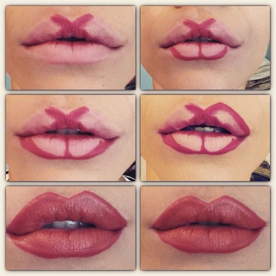 трикове за сочни устни