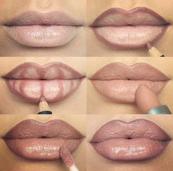 трик за сочни устни