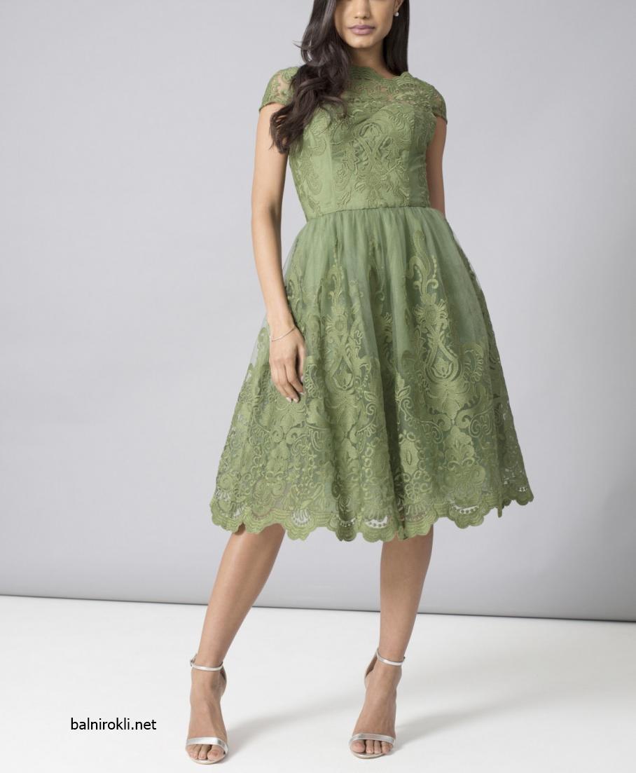 зеена бална рокля дантела