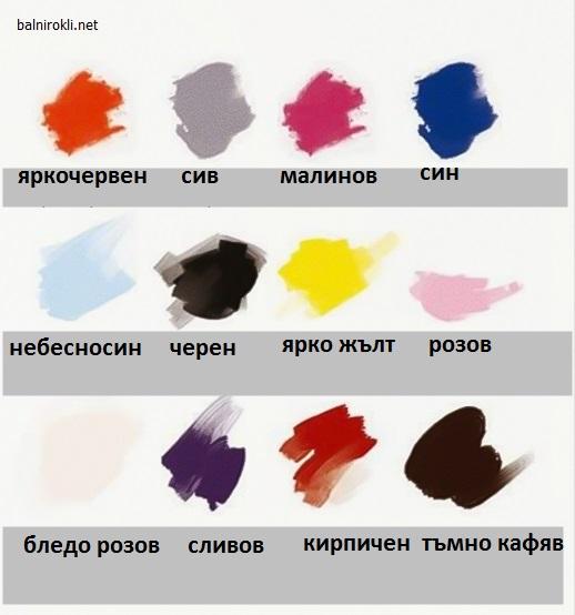 как да съчетаваме дрехите с тъмни коси
