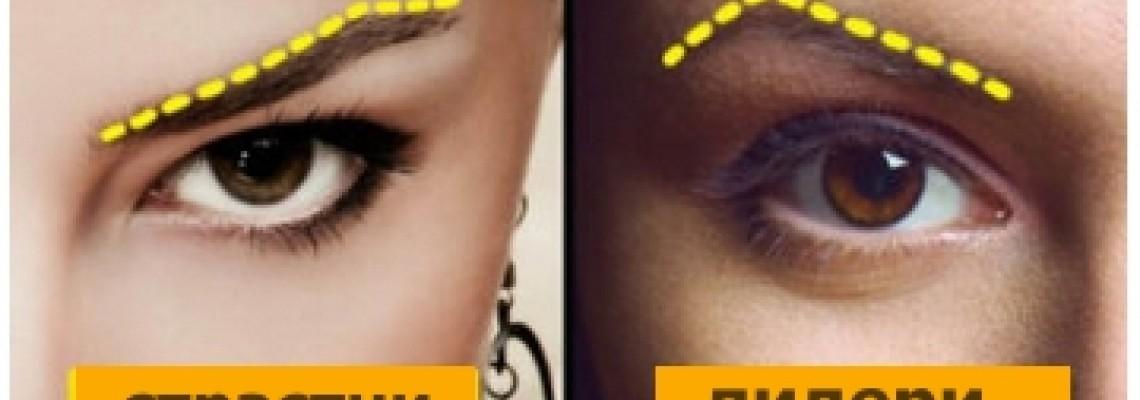 Какво Разкрива Формата на Веждите за Една Жена